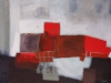 abstract rouge 130x97