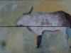 VACHE INDIENNE - 120 x 80