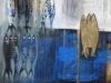 Verticale bleue 116x89